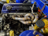 Future Fab Nissan KA24DE Turbo Manifold T2 Bottom Mount presented By Ace Up Motorsports