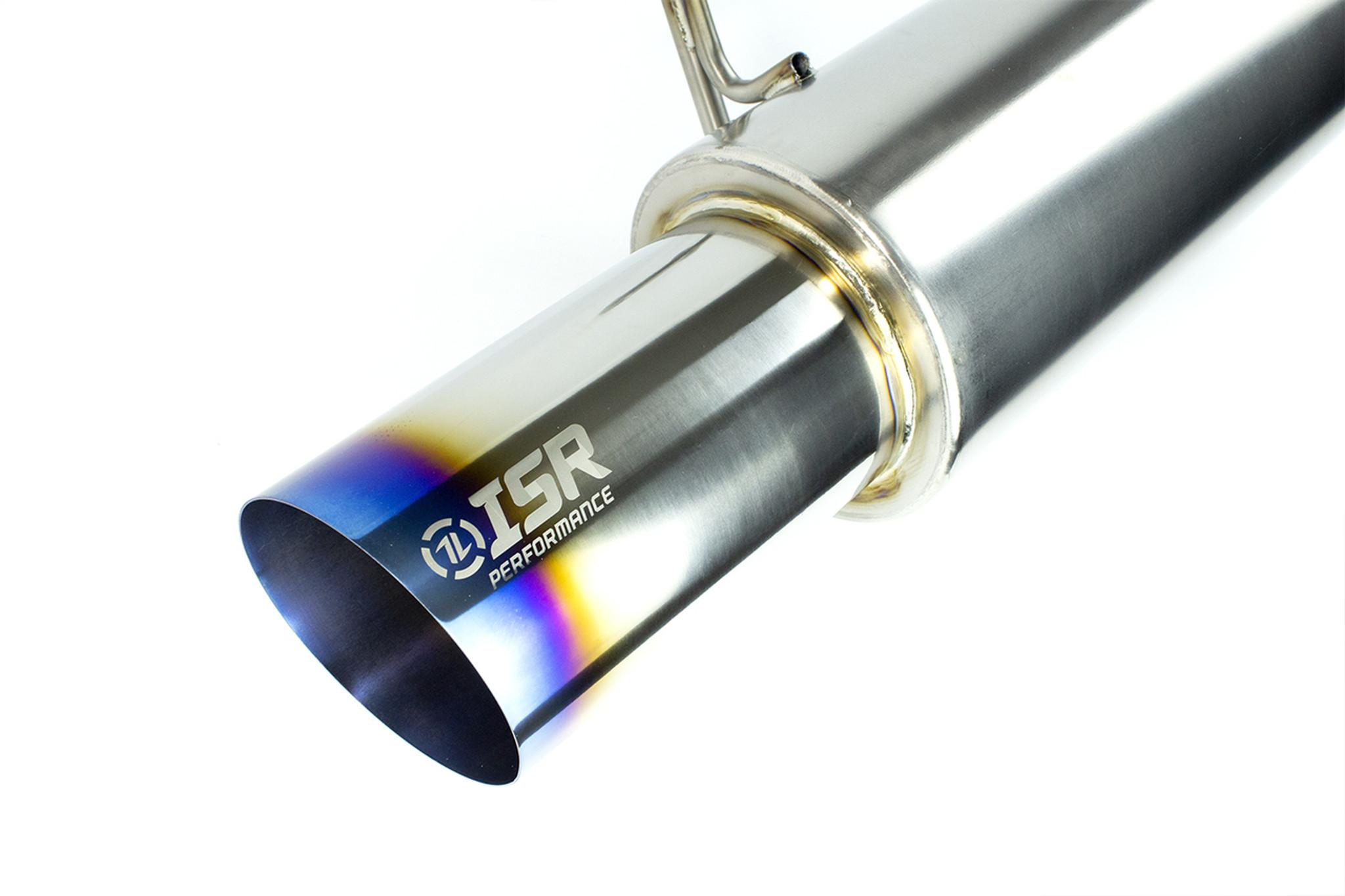 "For Chevrolet Cavalier 2.2L 4/"" Titanium Burn Tip Catback Exhaust Muffler System"