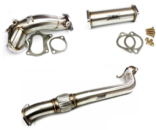 """ISR Performance Stainless Steel 3/"""" Downpipe w//Flex for Hyundai Genesis Coupe 2.0"""