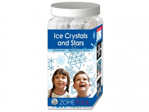 Ice Crystals and Stars