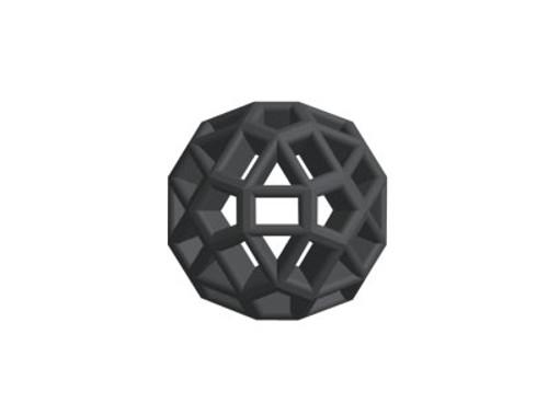 Black colored Zometool ball