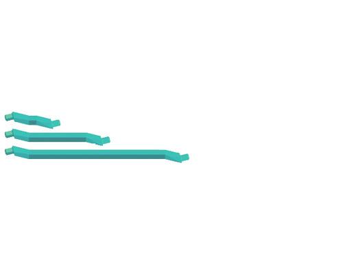 The Half-Green struts