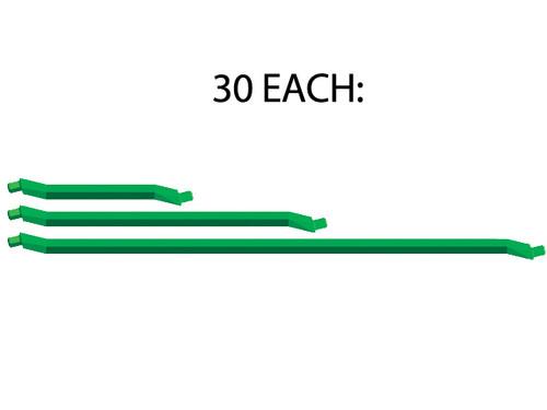 30 of each standard length of Green strut