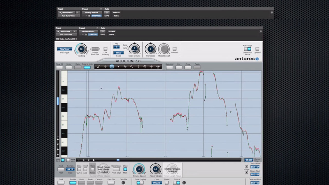 Antares Auto-Tune Professional Pitch and Time Correction