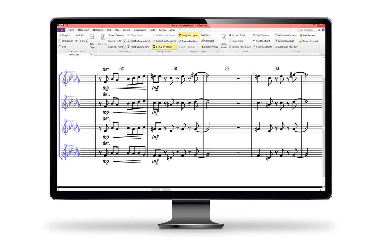 Avid Sibelius 8 Perpetual Seat Site License - Network/ Standalone