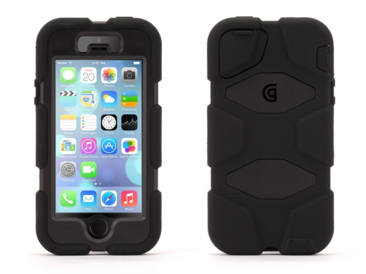timeless design 9fb8f ae435 Griffin Survivor All-Terrain Case for iPhone 5 + 5S