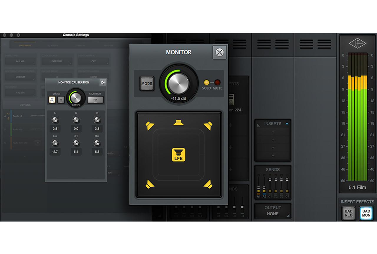 Universal Audio Apollo x6 16x22 Thunderbolt 3 Audio Interface w/HEXA Core