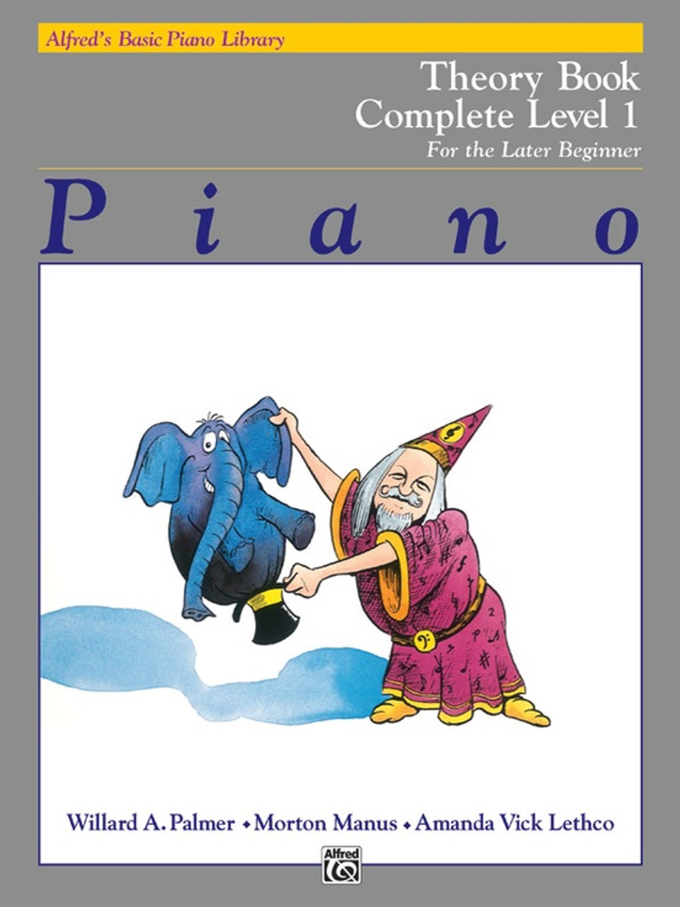 Alfred's Basic Piano Library: Theory Book Complete Level 1 (1A/1B)