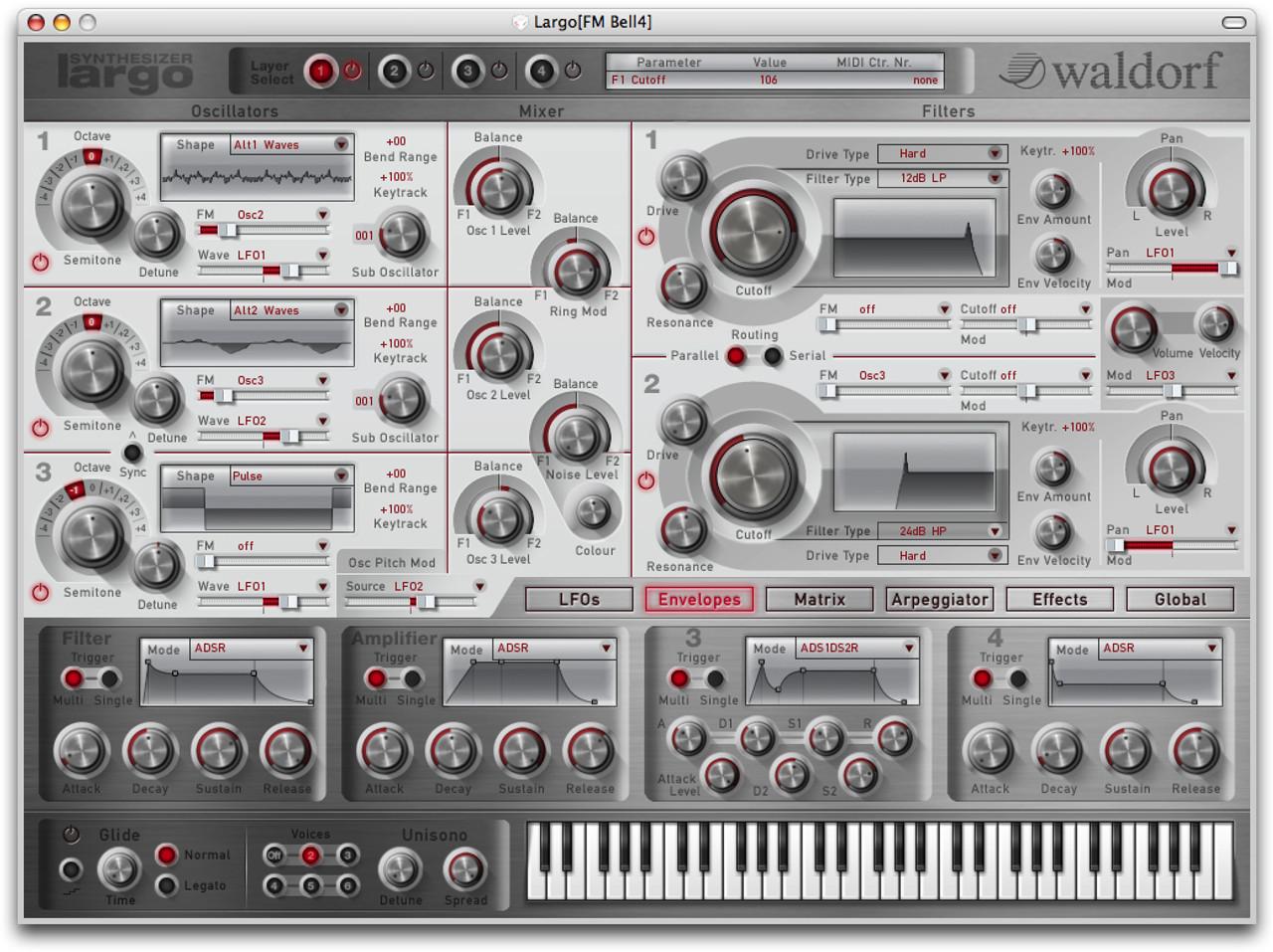 Waldorf Largo Soft Synthesizer