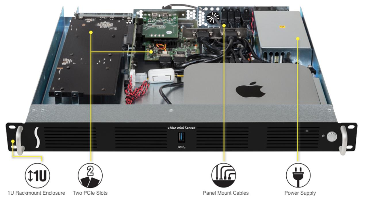 Sonnet Technology - xMac mini Server - PCIe 2 0 Expansion System
