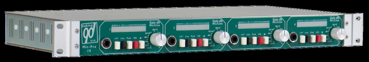 Daking Mic Pre IV B - 4 Channel Microphone Preamp