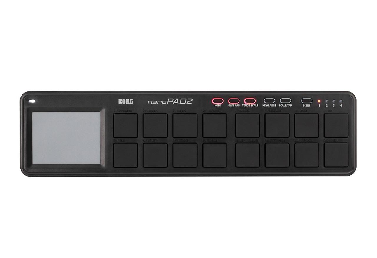 Beautiful Korg Nanopad2 White Korg Nano Pad Usb Drum Pad Controller Velocity-sensitive Pad Elegant Appearance Musical Instruments & Gear
