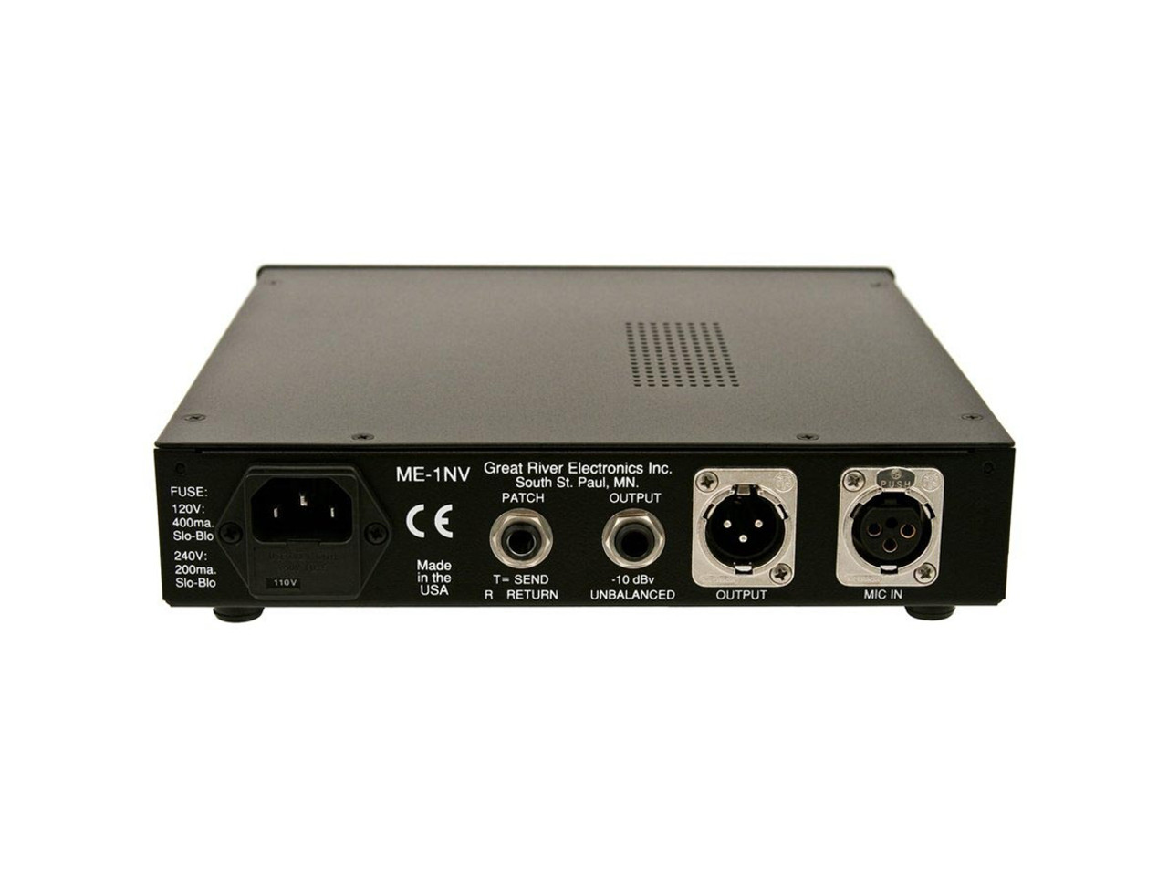 Great River Me 1nv Single Channel Preamp Classic 70s Vintage Audio Circuits Microphone Amplifier Circuit Styling
