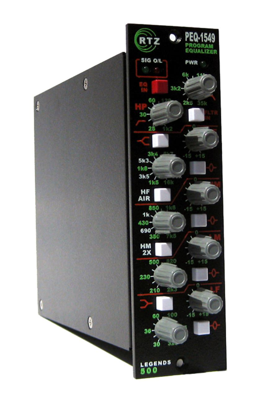 RTZ Professional Audio PEQ-1549 - 500 Series Parametric Equalizer