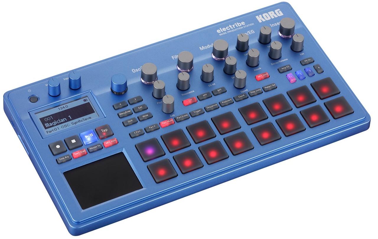 Korg Electribe2BL Music Production Station - Blue