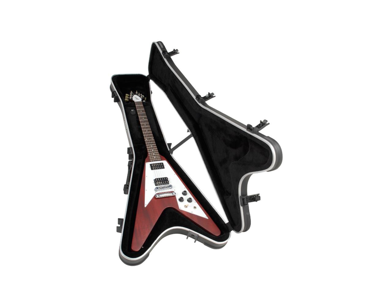 1a8b2c5624 ... SKB Cases 1SKB-58 Flying Vå¨ Hardshell Guitar Case ...