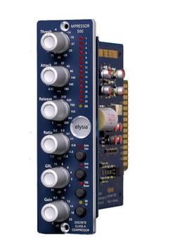 Recording Gear - Lunchbox Modules - 500 Series Compressors