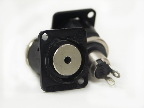 Switchcraft EH35MMMSCB EH Series 3.5MM, 2 Conductor Jack, Black Finish