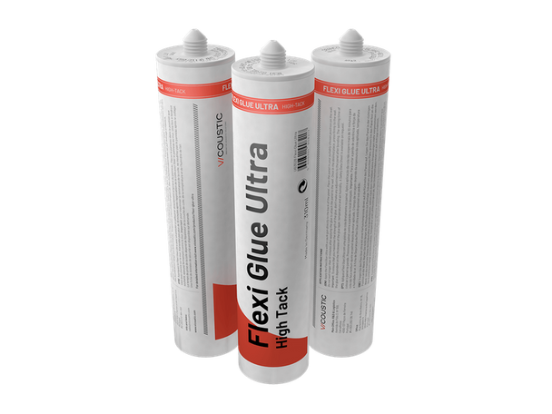 Vicoustic Flexi Glue Ultra - Panel Mounting Adhesive - 12 Bottles