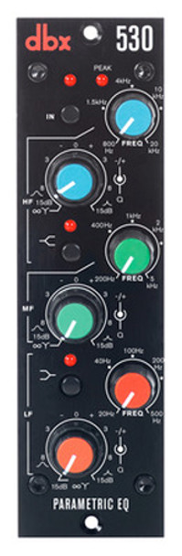 DBX 530 - 500 Series 3-Band Parametric Equalizer