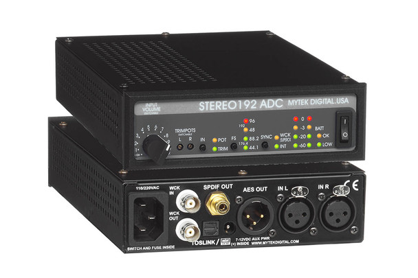 Mytek Stereo192 ADC High Performance A/D Converter