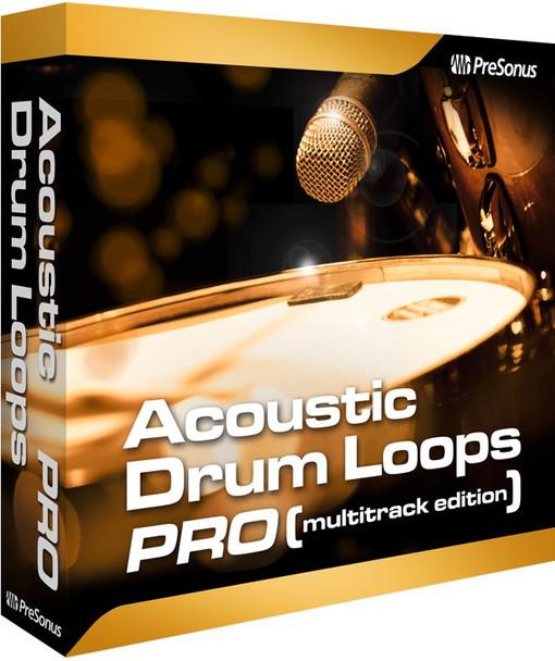 PreSonus Acoustic Drum Loops Pro - Multitrack Plug-in
