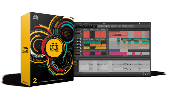 Bitwig Studio 2 - Music Production & Performance System - Educational Version (Download)