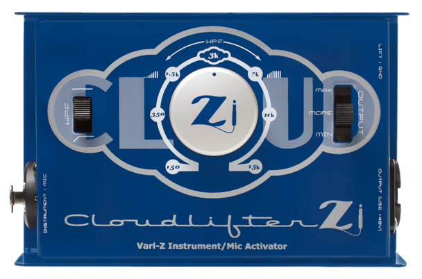 Cloud Microphones Cloudlifter Zi - Vari-Z Instrument DI and Mic Activator