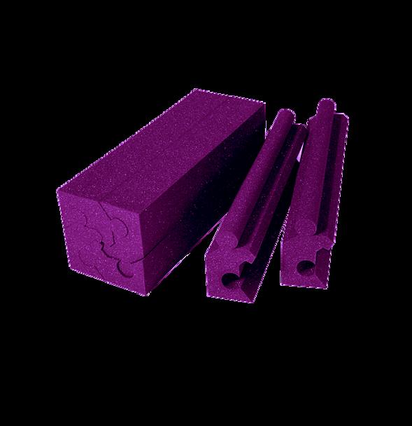 "Auralex MAX-Wall Corner Couplers, 12x 20"" pieces, Purple"