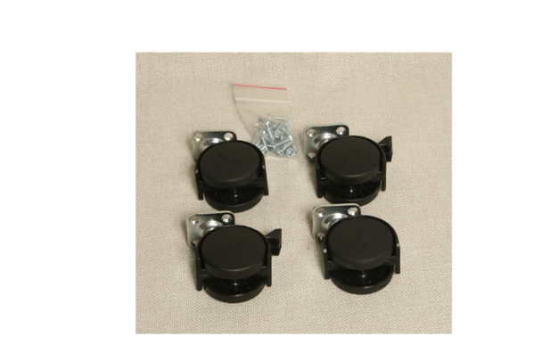 Auralex ProGo26 2x Locking casters, 2x Non-locking casters, 16x Screws