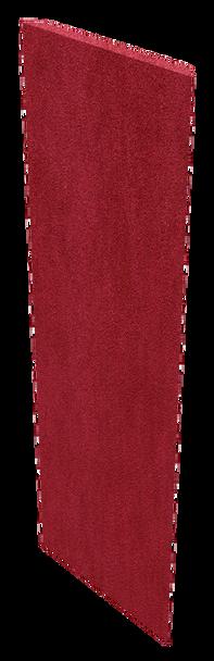 """Auralex 1"""" x 16"""" x 48"""" Red SonoSuede Pro Panel"""
