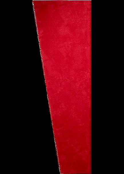 """Auralex 1"""" x 16"""" x 48"""" Red SonoSuede Trapezoid Panel, Left"""
