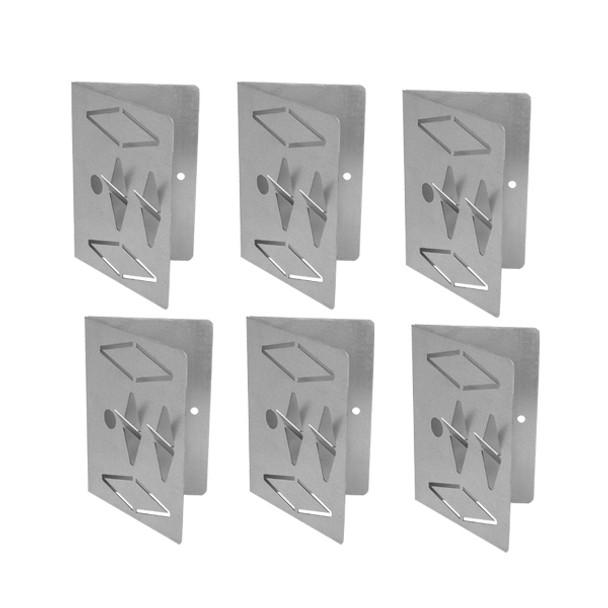 Auralex Deep6 Corner Mounting Kit, incl. 6x CTC impaling clips