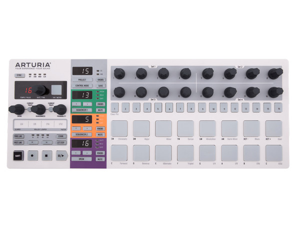 Arturia BeatStep Pro - Melody and Drum Sequencer