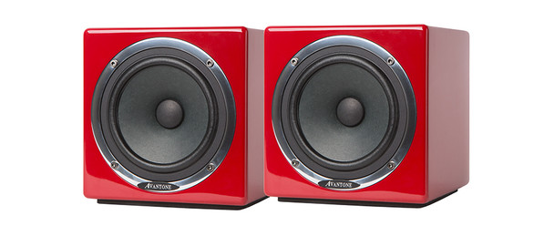 Avantone Active MixCubes Powered Mini Reference Monitors (Red) - Pair