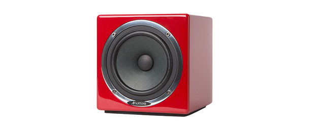 Avantone Mono-BLOK Active MixCube Single Self Powered Monitor (Red)