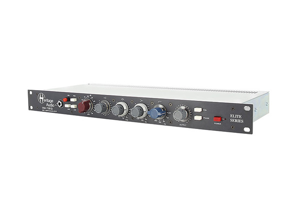Heritage HA73EQ Elite Single or Dual channel full rack mic pre with EQ