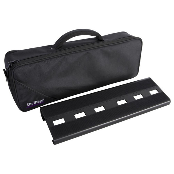 On-Stage Stands GPB2000 Compact Pedal Board w/ Gig Bag