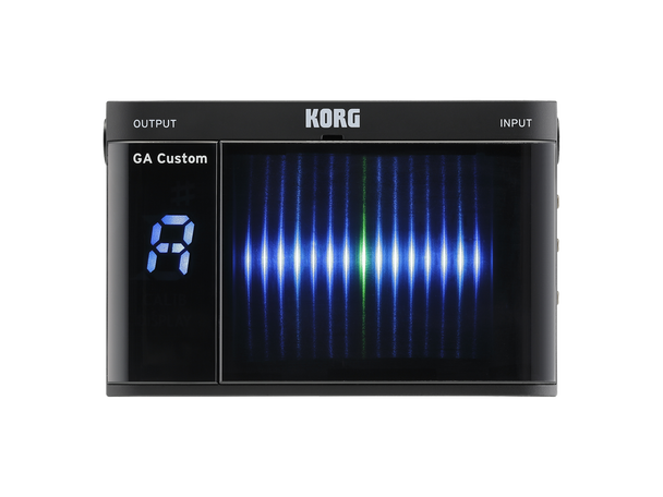 Korg GA-CS GA Custom Guitar Tuner