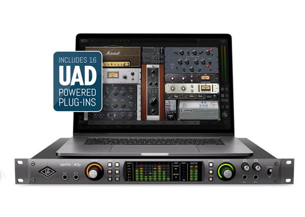 Universal Audio Apollo x8p Thunderbolt 3 Audio Interface w/HEXA Core