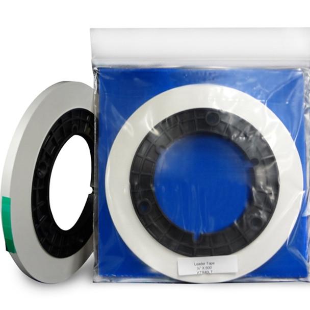 "ATR Leader Tape 1/4"" X 500' Precision Cut Roll - White (STT40LT)"