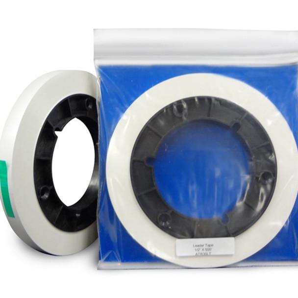 "ATR Leader Tape 1/2"" X 500' Precision Cut Roll - White (STT30LT)"