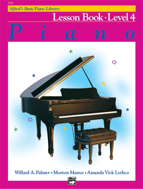 Alfred's Basic Piano Course: Lesson Book Level 4