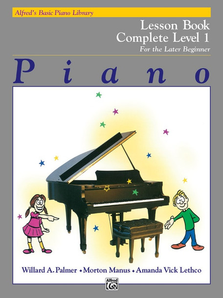 Alfred's Basic Piano Library: Lesson Book Complete Level 1 (1A/1B)