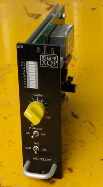 XQP Audio 570 Microphone Preamp