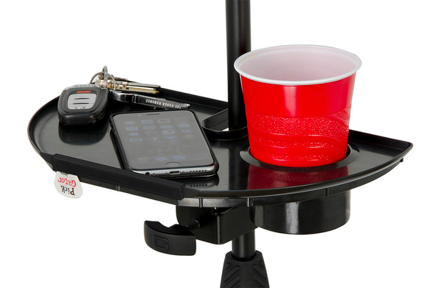 Gator GFW-MICACCTRAY Mic Stand Accessory Tray with Drink Holder