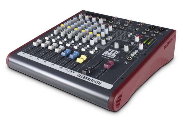 Allen & Heath ZED60-10FX Live Sound & Recording Mixer w/USB