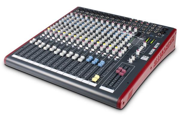 Allen & Heath ZED-16FX Live Sound & Recording Mixer w/USB