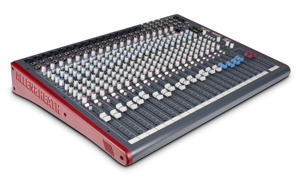 Allen & Heath ZED-24 Live Sound & Recording Mixer w/USB