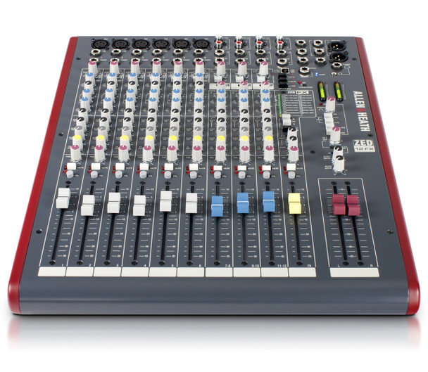 Allen & Heath ZED-12FX Live Sound & Recording Mixer w/USB
